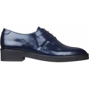 Richelieus bleues cuir dusse - jonak