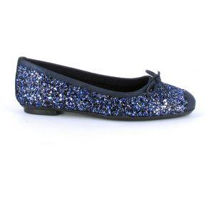 Ballerines harmony sparkle bleu électrique
