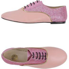 Chaussures à lacets lisa c bijoux femme. rose....