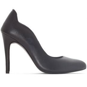 Soldes ! escarpins cuir - feminin - noir -...