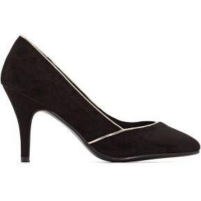 Soldes ! escarpins synthétique - feminin - noir...