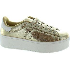 Xti 46986, baskets mode pour femme or doré - or...