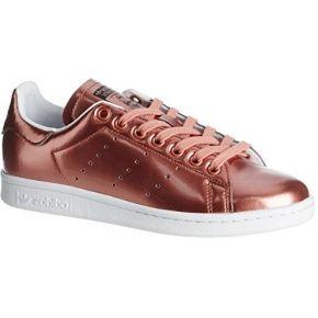 Adidas stan smith, baskets basses femme, marron...