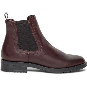 Chelsea boots bordeaux cuir