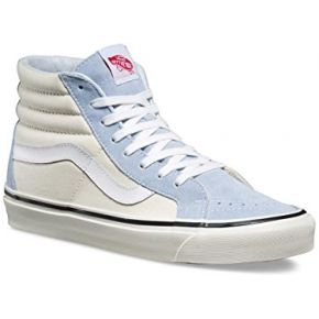Vans sk8-hi 38 dx chaussures light blue/white
