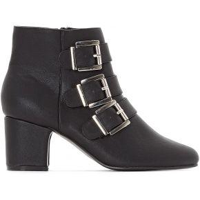 Boots triple boucle - feminin - noir - la...