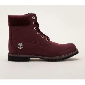 Boots en cuir suédé bordeaux 6 premium boot -...