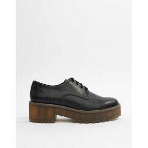 Femme monki - chaussures richelieu à lacets -...