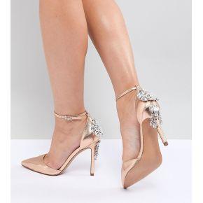 Femme asos design - plaza - chaussures larges...