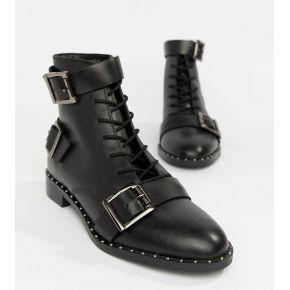 Femme asos design - arabelle - bottes à lacets...