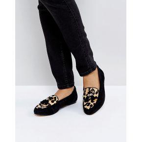 Femme office - fedora - chaussures plates en...