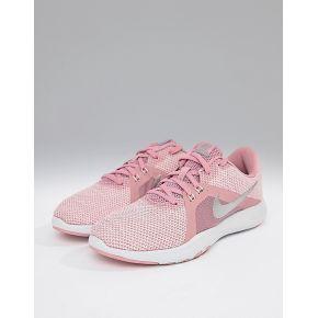 Femme nike training - flex - baskets - rose - rose