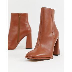 Femme asos design - endless - bottines en cuir...