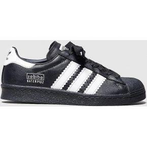 Adidas originals superstar fat stripes femme, noir
