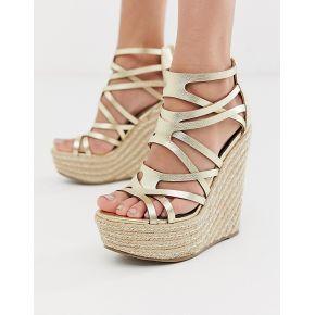 Femme miss selfridge - sandales compensées -...