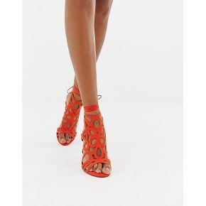 Femme miss selfridge - sandales effet cage à...