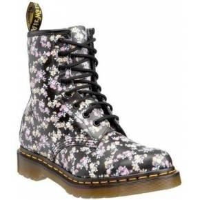 Dr. martens 1460 w, boots femme - noir (black...