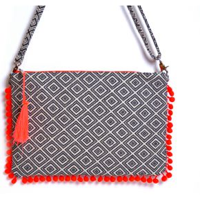 Pochette lori orange