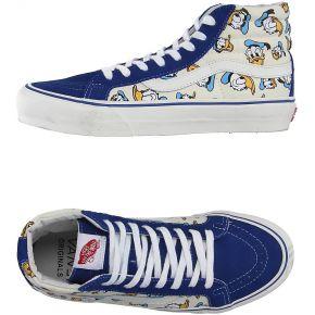 Sneakers & tennis montantes vans femme. bleu....