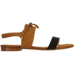 Sandales plates la flâneuse - beige - femme -...