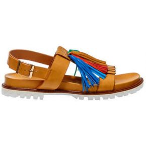 Sandales vanessa wu camel femme