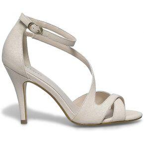 Sandale talon glitter