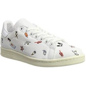 Adidas stan smith, baskets mode femme, blanc...