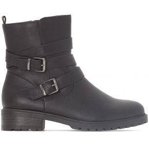 Boots motardes - feminin - noir - la redoute...