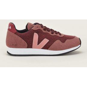 Sneakers en mesh rose sdu - veja