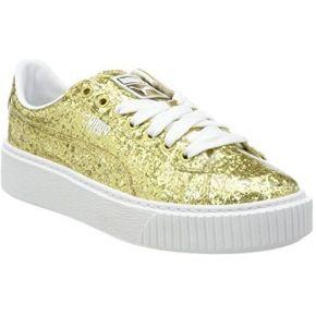 Puma basket platformglitter, sneakers basses...