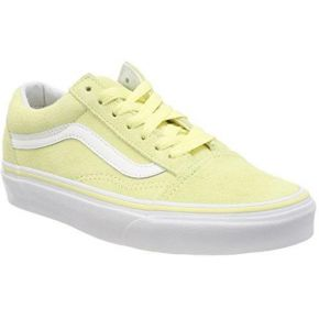 vans jaune pale
