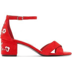 Sandales détail broderies pied large 38-45...