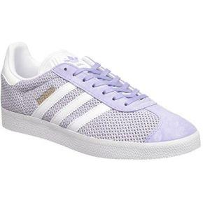 Adidas gazelle, baskets basses femme, violet...