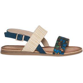 Sandale plate à imprimé...