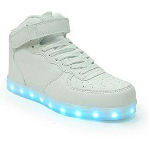 Suetar chaussures de lumières de led de couleur...