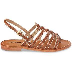 Sandales cuir entre-doigts herbier feminin...
