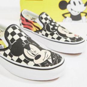 chaussure vans mickey femme