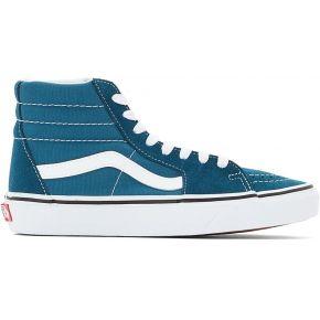 Baskets montantes ua sk8-hi feminin bleu vans