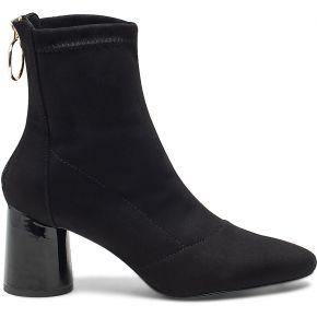 Boots noir à talon rond noir eram