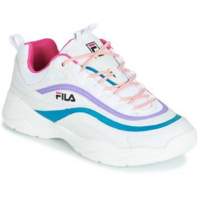 Baskets basses ray blanc fila