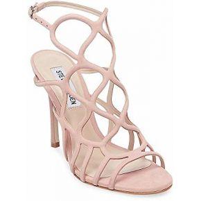 Steve madden women's teagen caged sandal blush...
