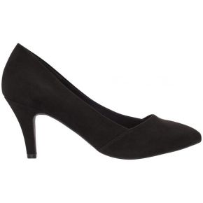 Bianco anur mid-heel pumps women black
