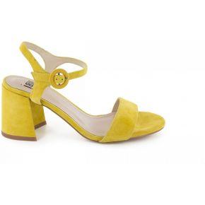 Sandales-bibi lou - couleur - jaune, taille - 41