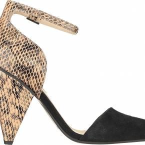 Sandales à talons imprimées reptile sonia - see...