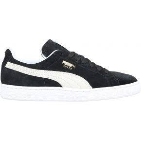 Sneakers cuir suède noires suede classic + - puma