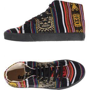 Sneakers & tennis montantes inkkas femme. noir....