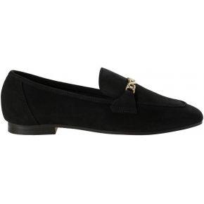 Chaussures mocassin en cuir. pieces black