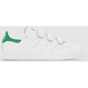 Baskets basses stan smith cf. adidas blanc/vert
