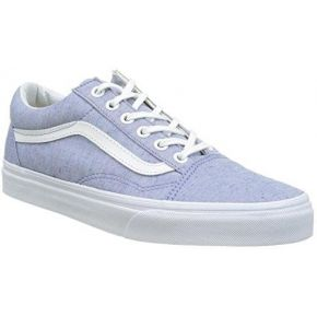 Vans ua old skool, baskets basses femme, bleu...