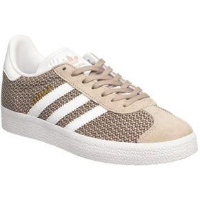 Adidas gazelle, baskets basses femme, gris...